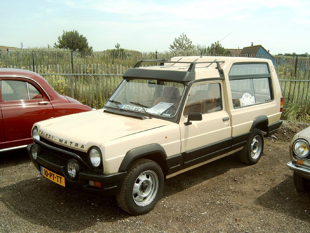 4x4 Van For Sale >> 1984 Talbot (Simca) Matra Rancho | The Matra Rancho is a lei… | Flickr