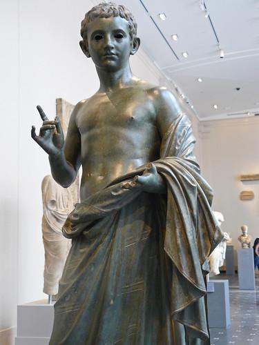 Bronze Statue Of An Aristocratic Boy Roman Augustan Period Flickr