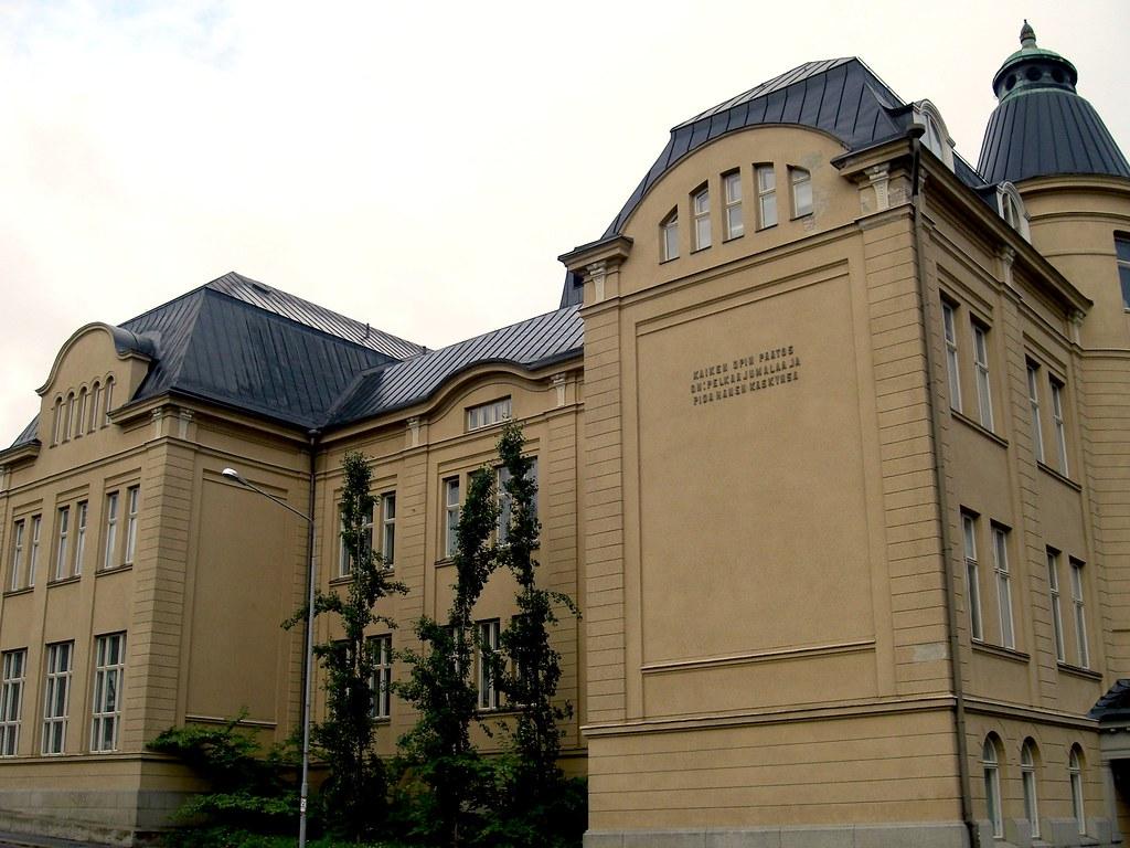 Tampereen klassillinen lukio | Antti-Juhani Kaijanaho | Flickr