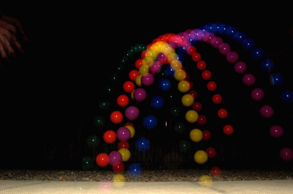 bouncing balls experiment coursework