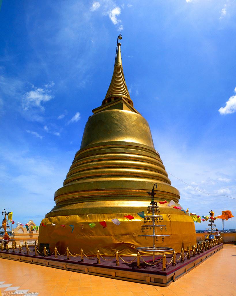 Wat Saket - Golden Mount | Bangkok - Thailand All rights