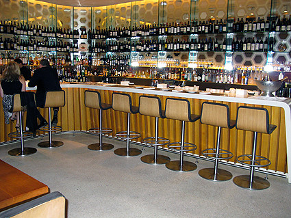 lever house bar new york city the food was just ok but