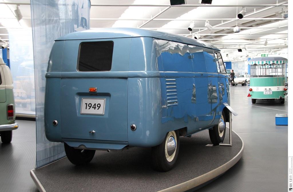 1949 Volkswagen Kastenwagen T1 Prototyp (05) | The Volkswage… | Flickr