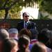 President Rush Speaks at University Student Union Ground Breaking