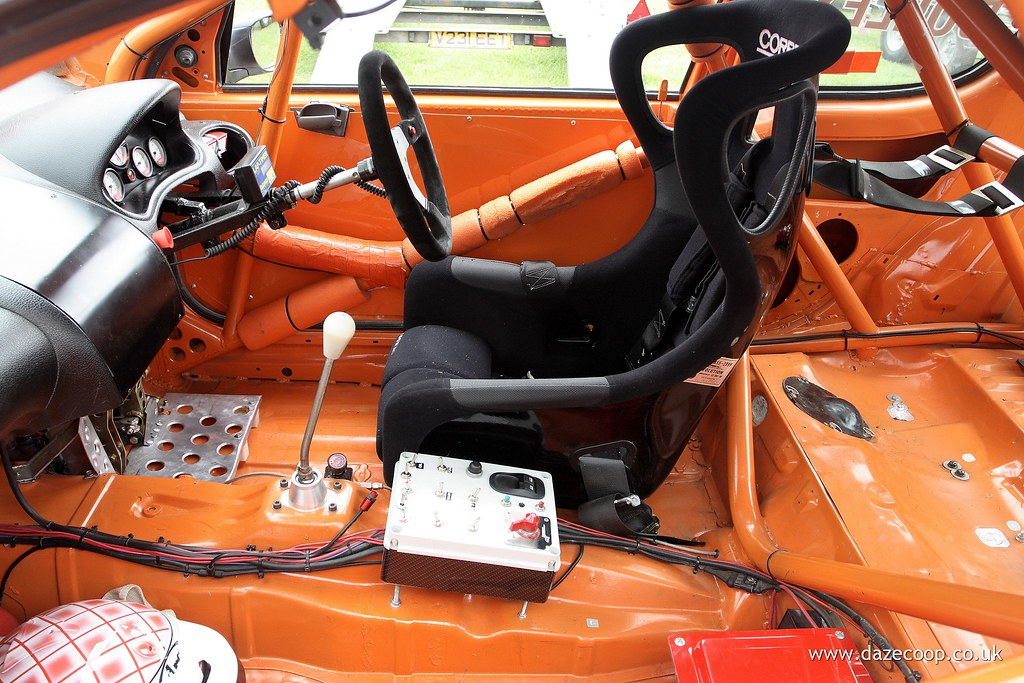 peugeot 206 race car interior david cooper flickr. Black Bedroom Furniture Sets. Home Design Ideas