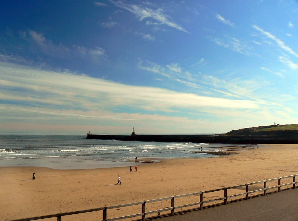 Aberdeen Beach and Breakwater