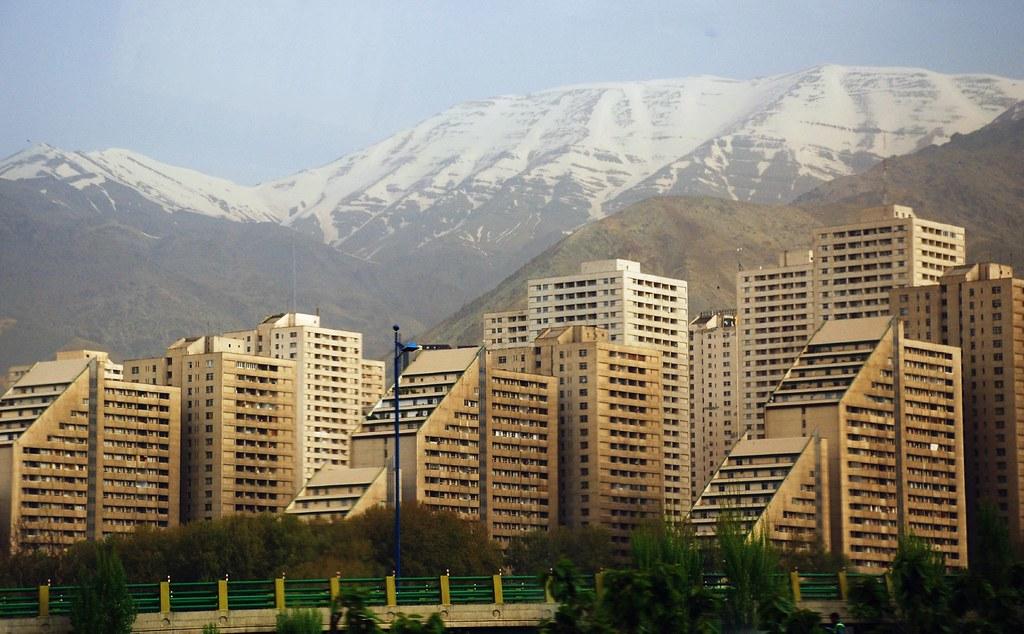 Apartment Buildings in North Tehran | David Lewis | Flickr