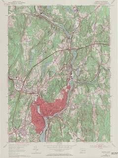 Norwich Quadrangle 1970 - USGS Topographic Map 1:24,000 | by uconnlibrariesmagic