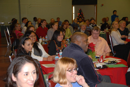 CSUCI employees gathered for Christmas party | by California State University Channel Islands