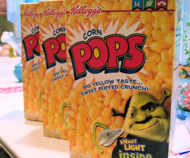 Corn Pops*. Three Huge Boxes. On