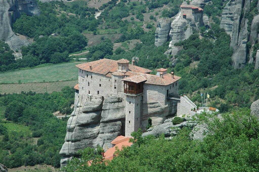 mountain top monastery