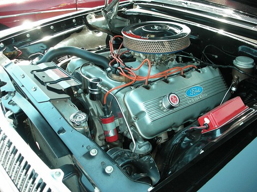 Ford Single Overhead Cam 427 In A Mercury Convertible