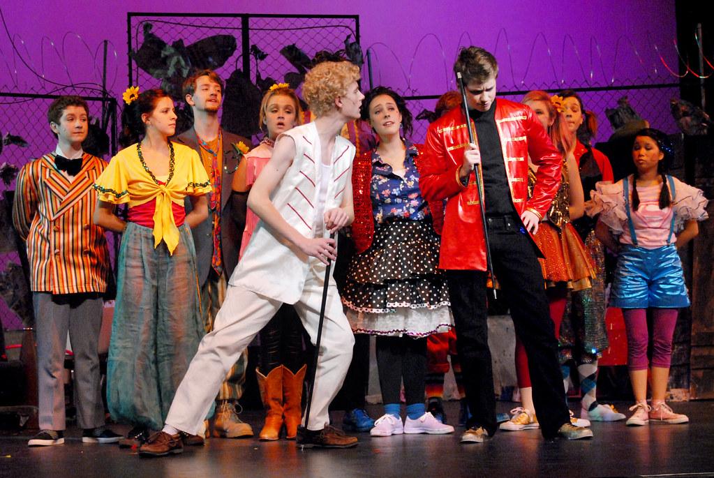 Godspell 3561 the burnsville high school theatre guild for Burnsville theater