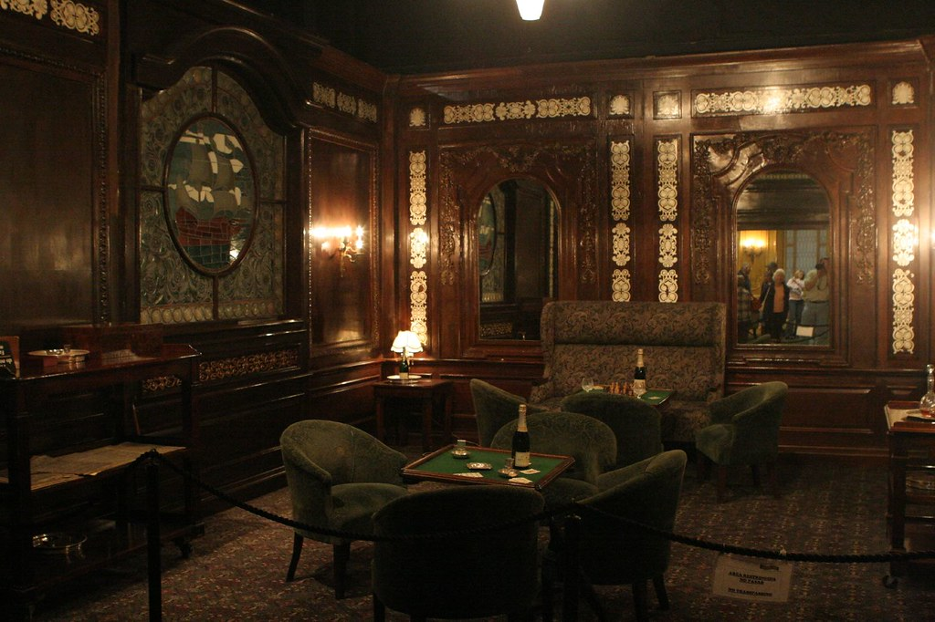 Titanic Smoking Room Catiadan Flickr