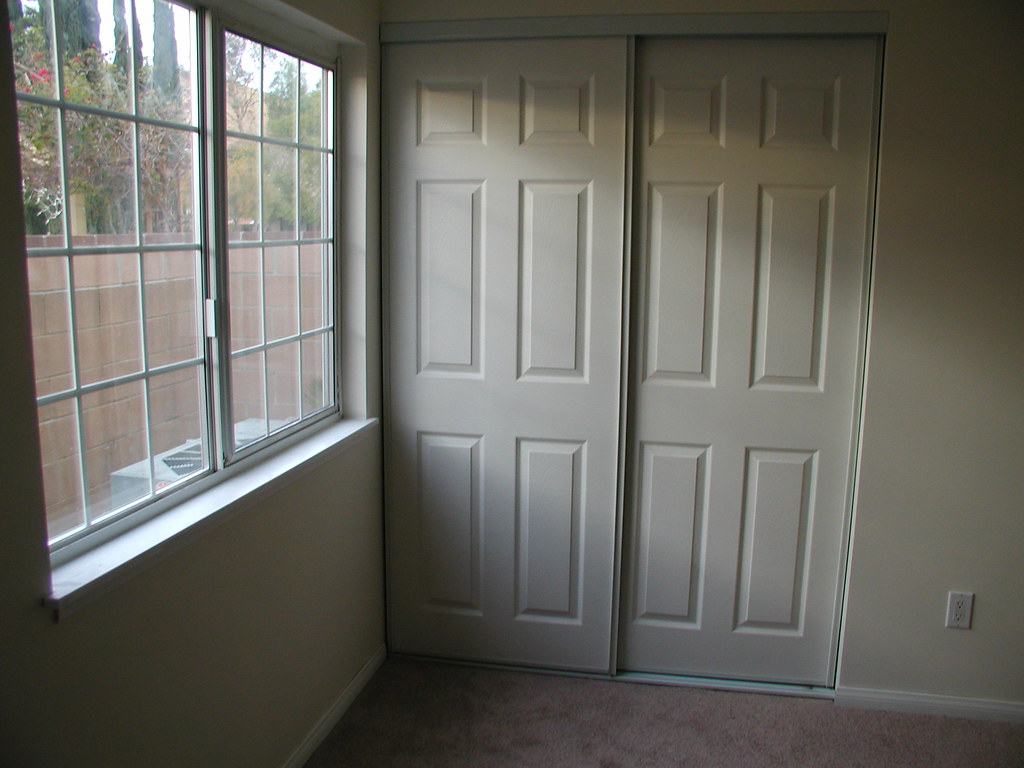 Bedroom Raised Panel Sliding Closet Doors Picture After O Flickr