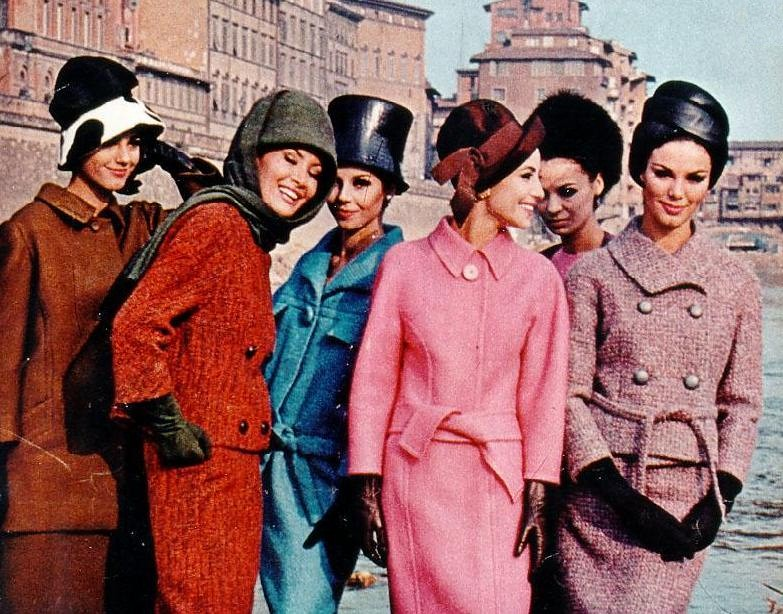 French And Italian Designers For Fall Winter 1964 Flickr