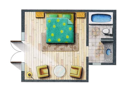 Floor Plan Rendering Flickr Photo Sharing