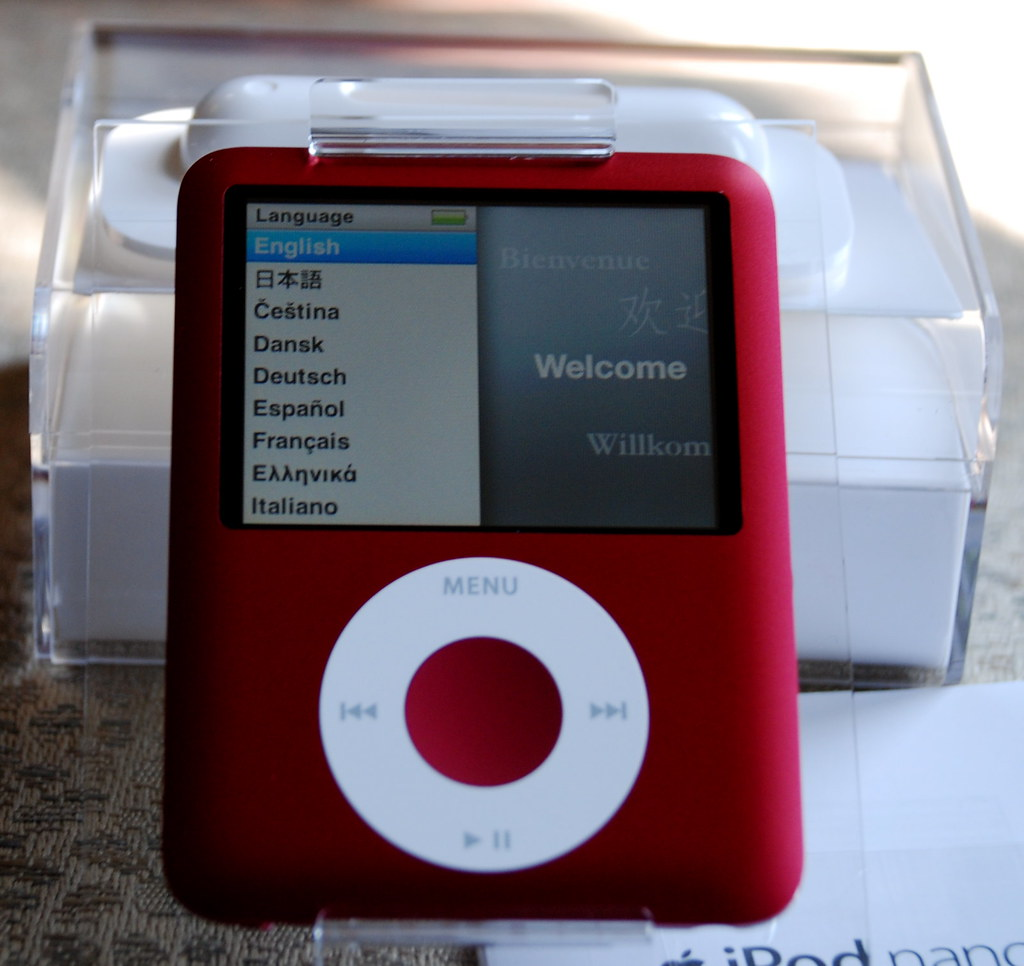ipod nano 3rd generation - HD1024×966
