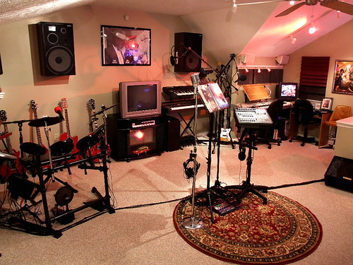 Home recording studio flickr photo sharing for The family room recording studio