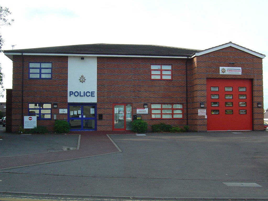 Shepshed police and fi...