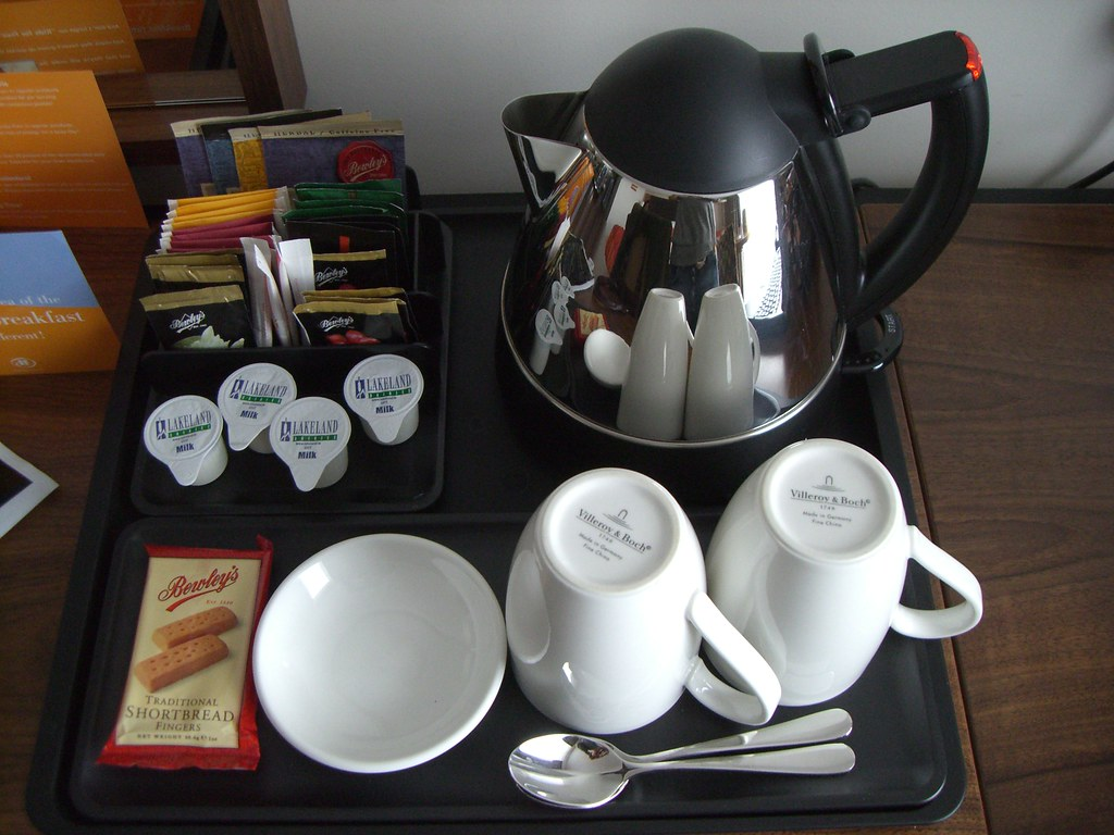 Hotel Room Tea Tray India
