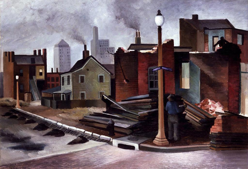 Joe For Oil >> Joe Jones: Street Scene, 1934 | Street Scene, 1934 Joe ...