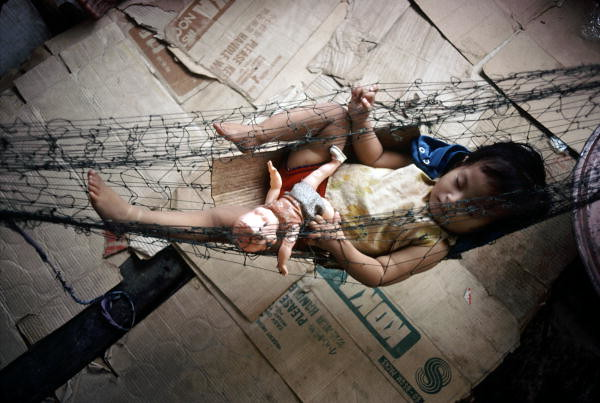 Vietnamese Refugee Camp On Grande Island Rpi
