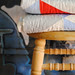 Quilts on Stool