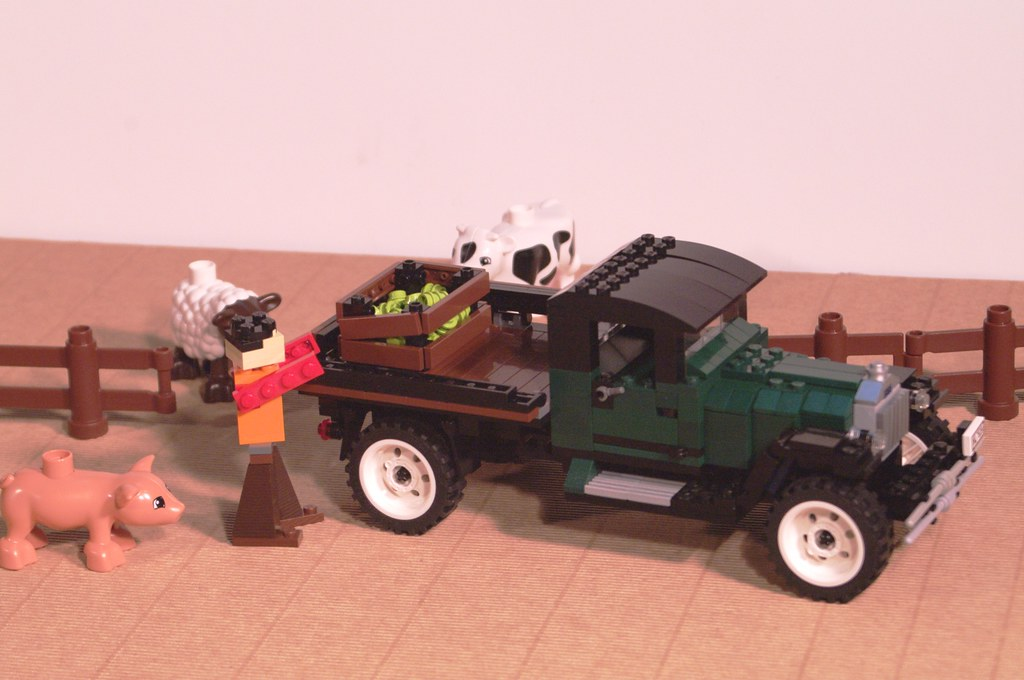 Ford model aa farm truck the ford model aa was the for Modele maison lego classic