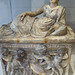 Terracotta cinerary urn Etruscan 2nd century BCE