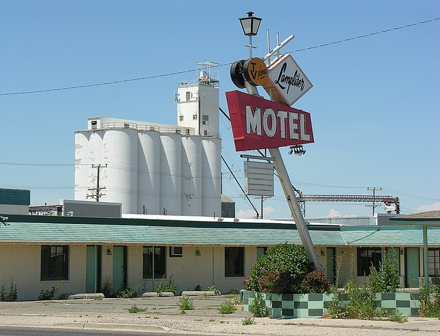 burley lamplighter motel dave van hulsteyn flickr. Black Bedroom Furniture Sets. Home Design Ideas