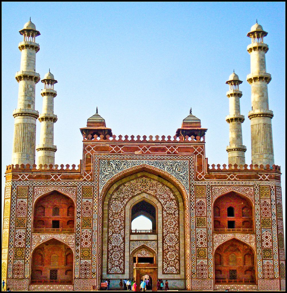 Sikandra Akbar S Tomb In Sikandra Agra Sikandra The