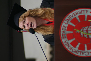 Student Speaker, Debra-Lee Sawyer | by California State University Channel Islands