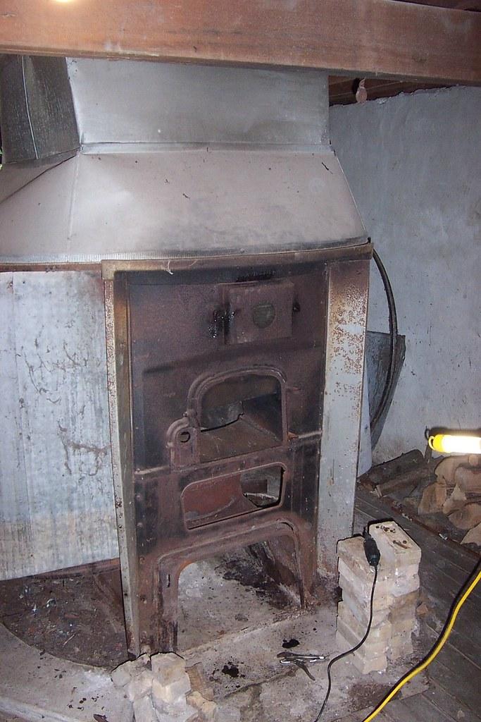 Sunbeam Coal Wood Furnace Model Number A 1052 Bd