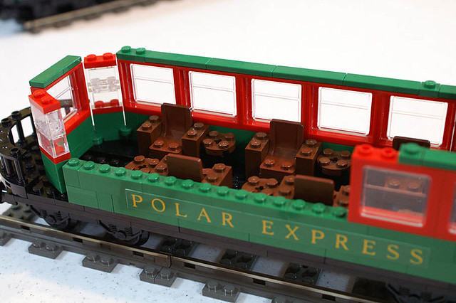 The Polar Express Observation Car My Lego Version Of The Flickr