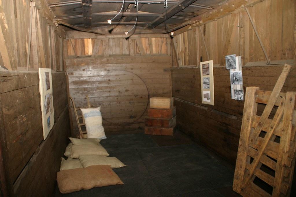 train museum freight car interior rnrobert flickr. Black Bedroom Furniture Sets. Home Design Ideas