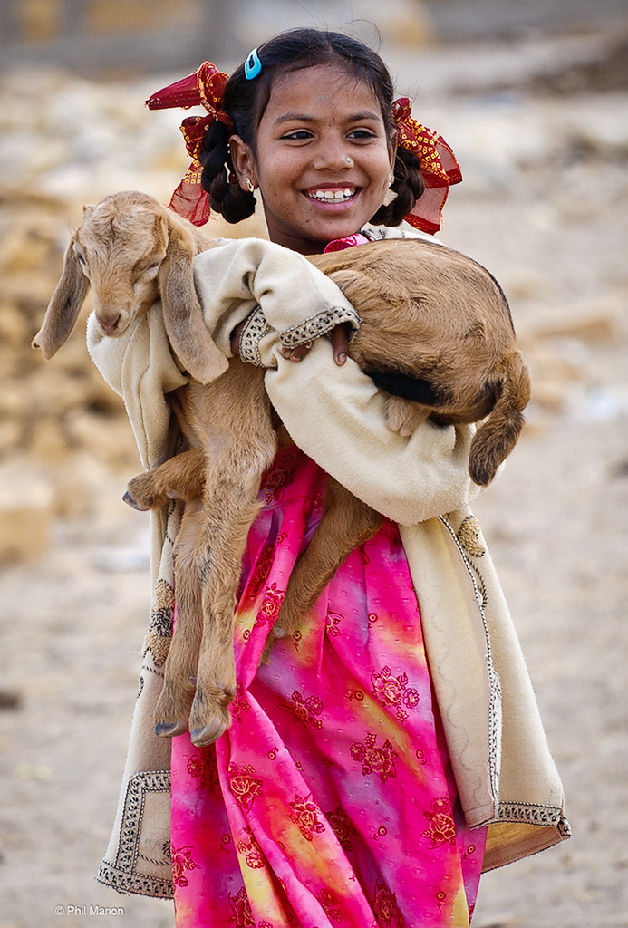 Rajasthani Cutie Proudly Shows Off Her Kid  Phil Marion -9758
