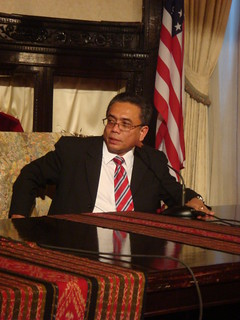 Governor Aceh Irwandi Yusuf Speaking at Indonesian Embassy September 14, 2007 | by Aceh.Net