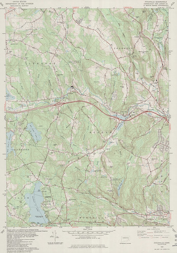 Fitchville Quadrangle 1983 - USGS Topographic Map 1:24,000 | by uconnlibrariesmagic
