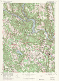 Newtown Quadrangle 1972 - USGS Topographic Map 1:24,000 | by uconnlibrariesmagic