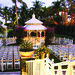 Ceremony Set-up at Wedding Gazebo