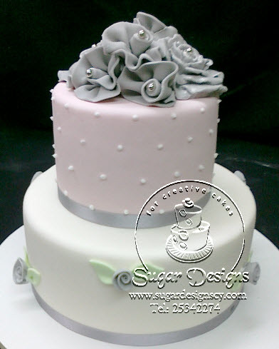 pink and grey wedding cake ideas wedding cake pink and grey www sugardesignscy flickr 18547