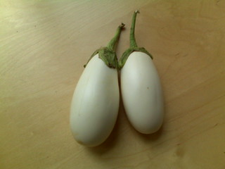 White Eggplant | by Alaina B.