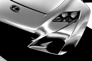 2007 Lexus LF-A Sports car concept detail | by j.hietter