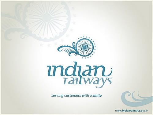 Indian Railways Logo Logo Designed For Indian