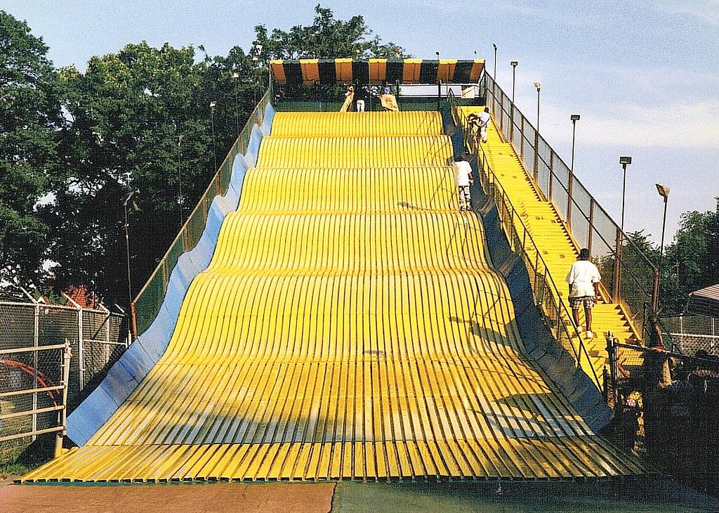 Slide belle isle park detroit mi a giant slide provides flickr - The giant slide apartament ...