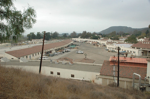 View of Maintenance and Warehouse from Hill | by California State University Channel Islands