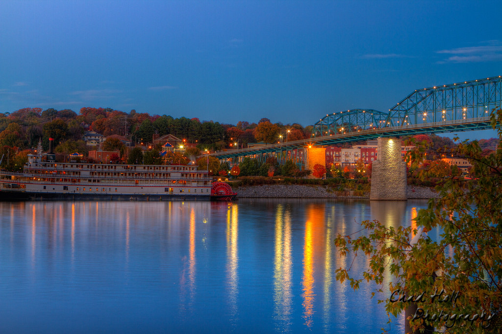 Chattanooga Tennessee Night Hdr Chad Holt Flickr