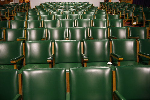 theatre's seats | by Café Latte