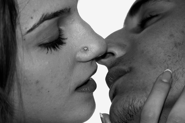how to kiss softly